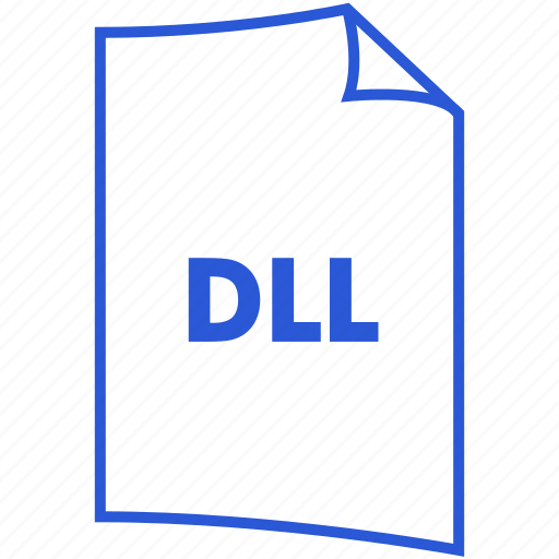 dll, extension, file format, system file icon