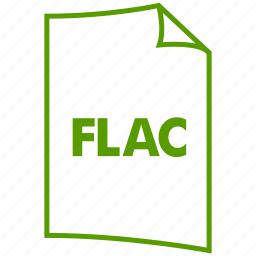 extension, file format, flac icon