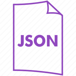 extension, file, file format, json icon