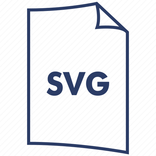 extension, file format, svg file, vector graphics icon
