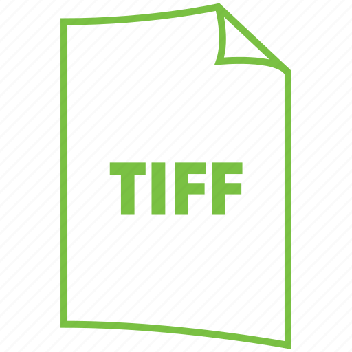 extension, file format, image fromat, tiff icon