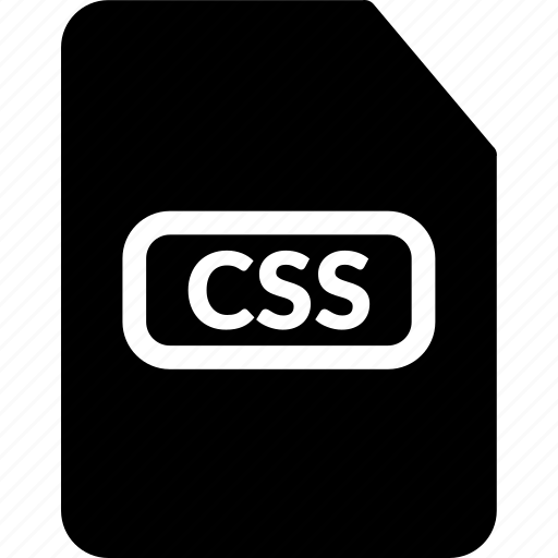css, css document, css extension, css file, css format, css stylesheet icon