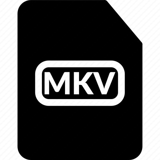 mkv, mkv document, mkv extension, mkv format, movie file, video file icon