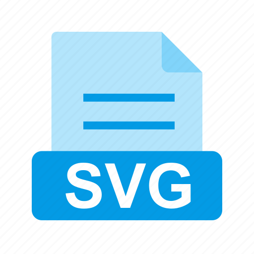 extension, file, file format, svg file icon