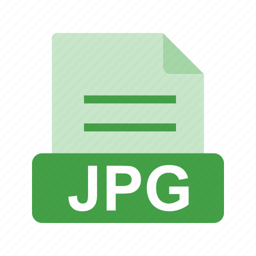 extension, file, file format, image, jpg icon