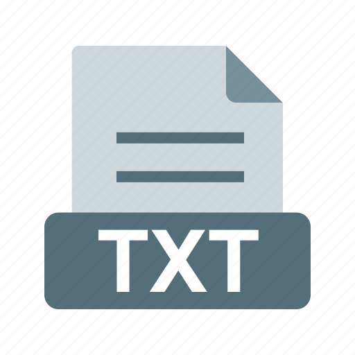 extension, file, file format, text document, text file, txt icon