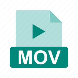 extension, file, file format, mov icon
