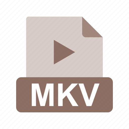 extension, file, file format, mkv icon