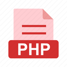 extension, file, file format, php icon