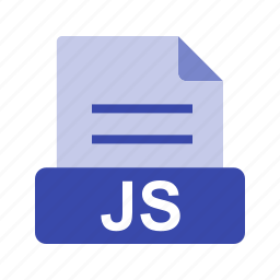 extension, file, file format, js icon