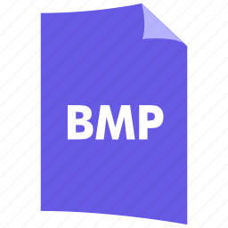 bmp, data format, extension, file format, filetype, image format icon