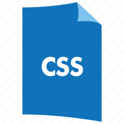 css, data format, extension, file format, filetype, stylesheet icon