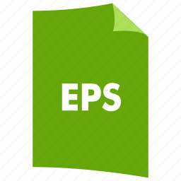 data format, eps, extension, file format, filetype, image format icon