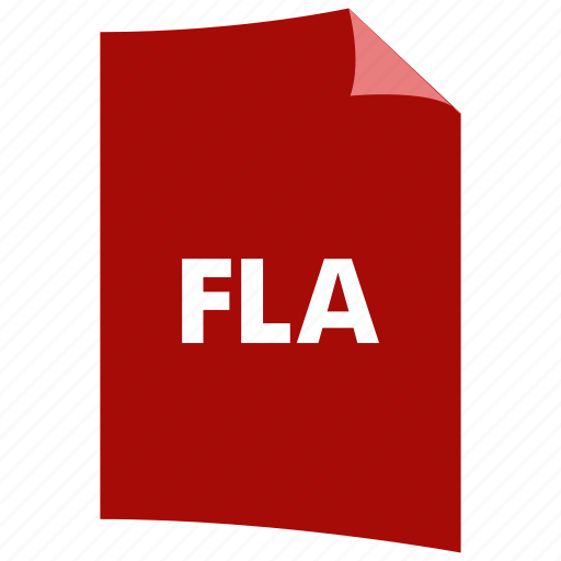 data format, extension, file format, filetype, fla, flash icon
