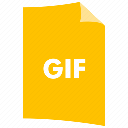 data format, extension, file format, filetype, gif, image format icon