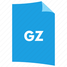 archive, data format, extension, file format, filetype, gz icon