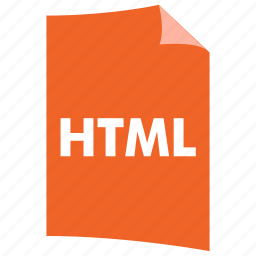 data format, document, extension, file format, filetype, html icon