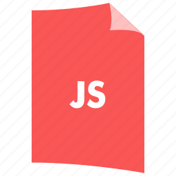 data format, document, extension, file format, filetype, javascript, js icon
