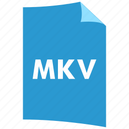 data format, extension, file format, filetype, mkv, video format icon
