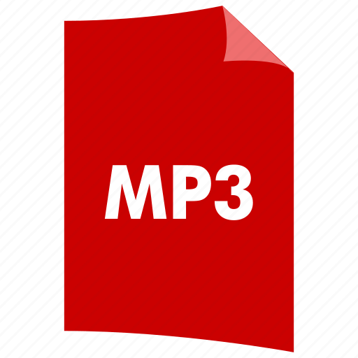 audio format, data format, extension, file format, filetype, mp3, music format icon