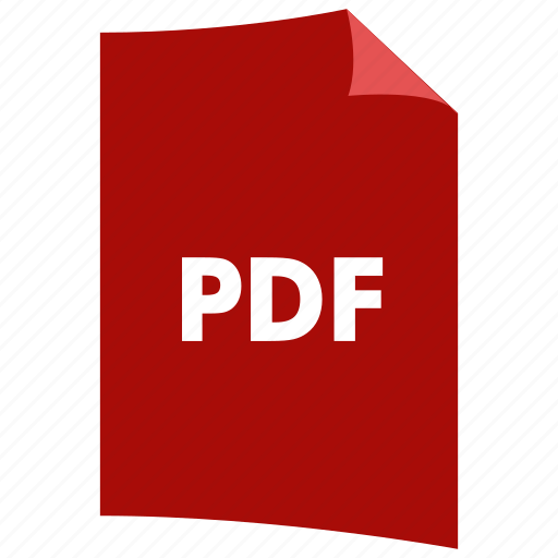 data format, document, extension, file format, filetype, pdf icon
