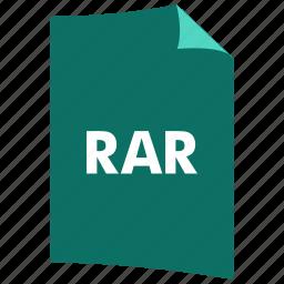 archive, data format, extension, file format, filetype, rar icon