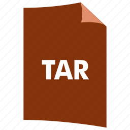 archive, data format, extension, file format, filetype, tar icon