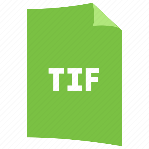 data format, extension, file format, filetype, image format, tif icon
