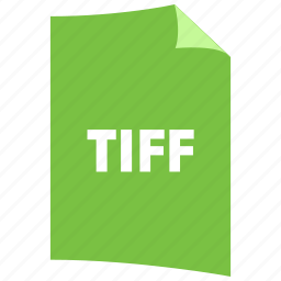 data format, extension, file format, filetype, image format, tiff icon
