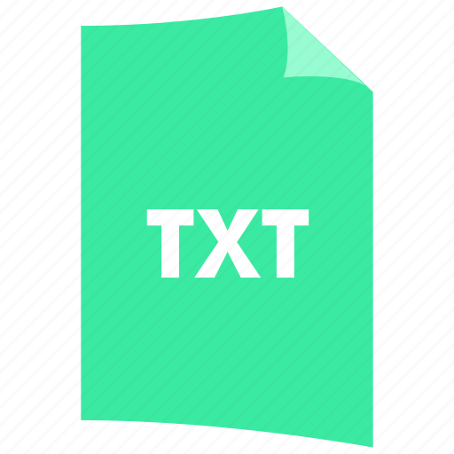 data format, document, extension, file format, filetype, txt icon