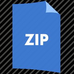 data format, extension, file format, filetype, zip icon