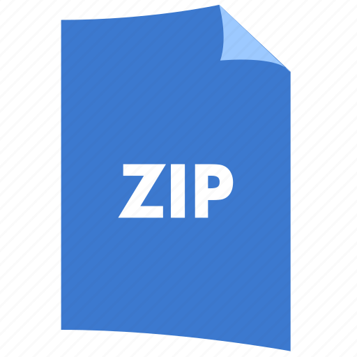 data format, extension, file format, filetype, zip icon