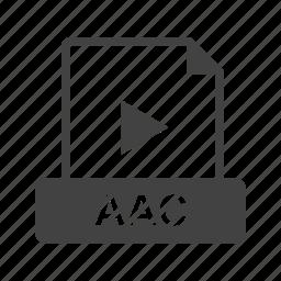 aac, audio, design, file, format, interface, wav icon