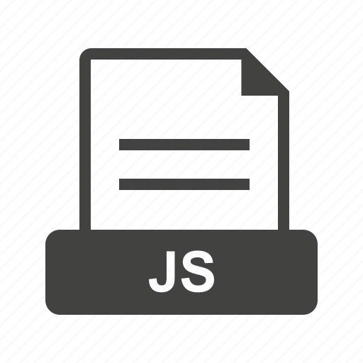 document, download, file, format, js, site, web icon