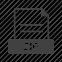 computer, data, file, files, folder, zip, zipped icon