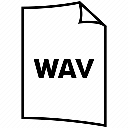 extention, format, type, wav icon