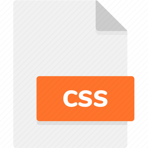css, extension, file, file format, file formats, format, type icon
