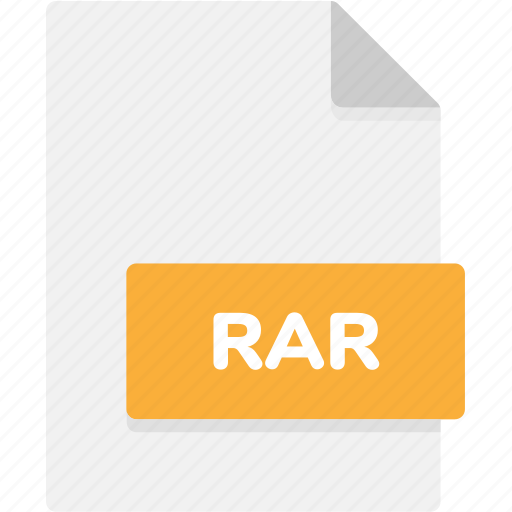 extension, file, file format, file formats, format, rar, type icon