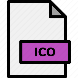extension, file, file format, file formats, format, ico, type icon