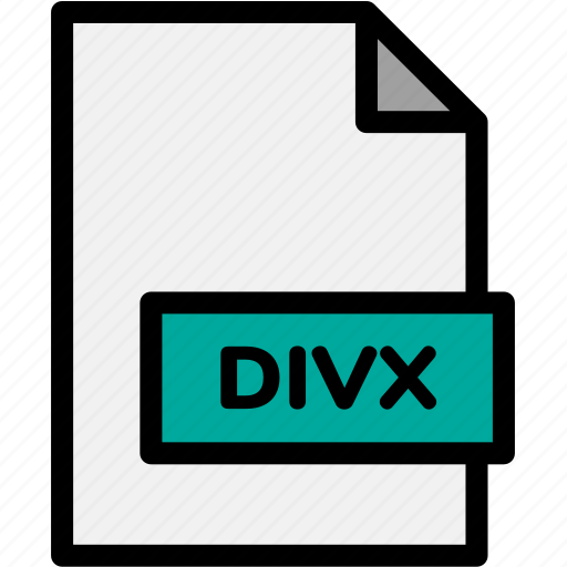 divx, extension, file, file format, file formats, format, type icon