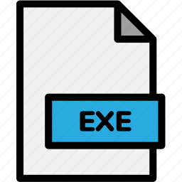 exe, extension, file, file format, file formats, format, type icon
