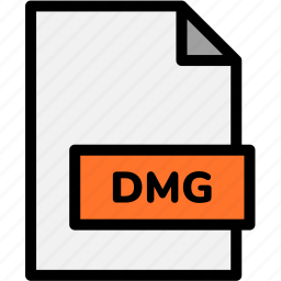 dmg, extension, file, file format, file formats, format, type icon