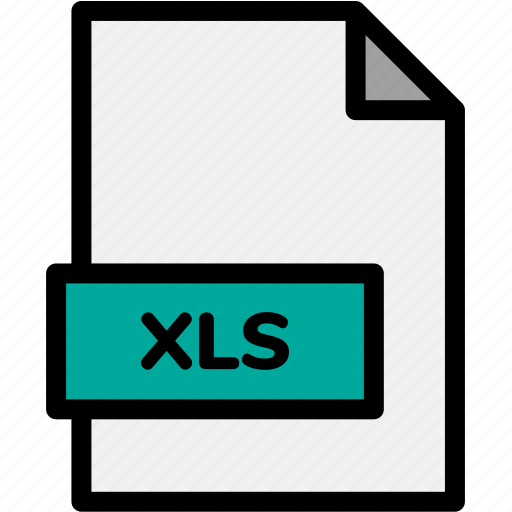 extension, file, file format, file formats, format, type, xls icon