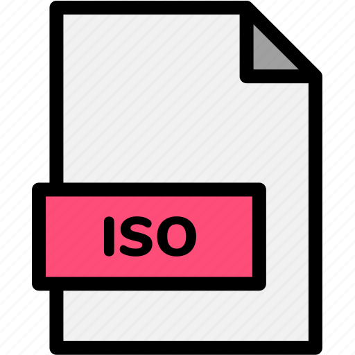 extension, file, file format, file formats, format, iso, type icon