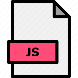 extension, file, file format, file formats, format, js, type icon