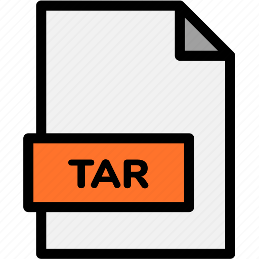 extension, file, file format, file formats, format, tar, type icon