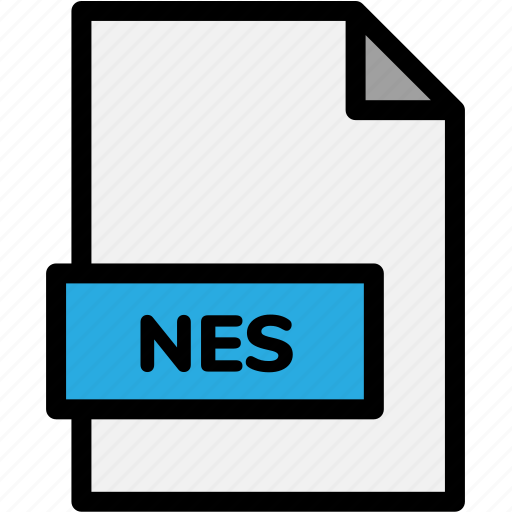 extension, file, file format, file formats, format, nes, type icon