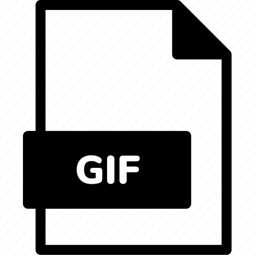 extension, file, file format, file formats, format, gif, type icon