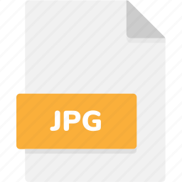 extension, file, file format, file formats, format, jpg, type icon