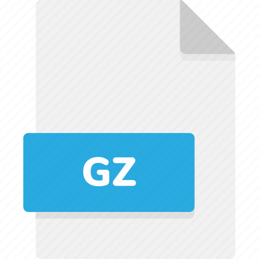 extension, file, file format, file formats, format, gz, type icon